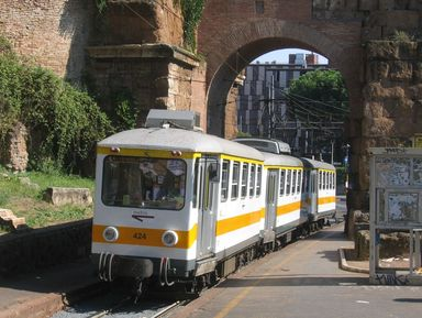 По Риму на трамвае