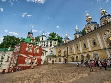 Псково-Печерский монастырь. Знакомство с уникальным миром православной культуры