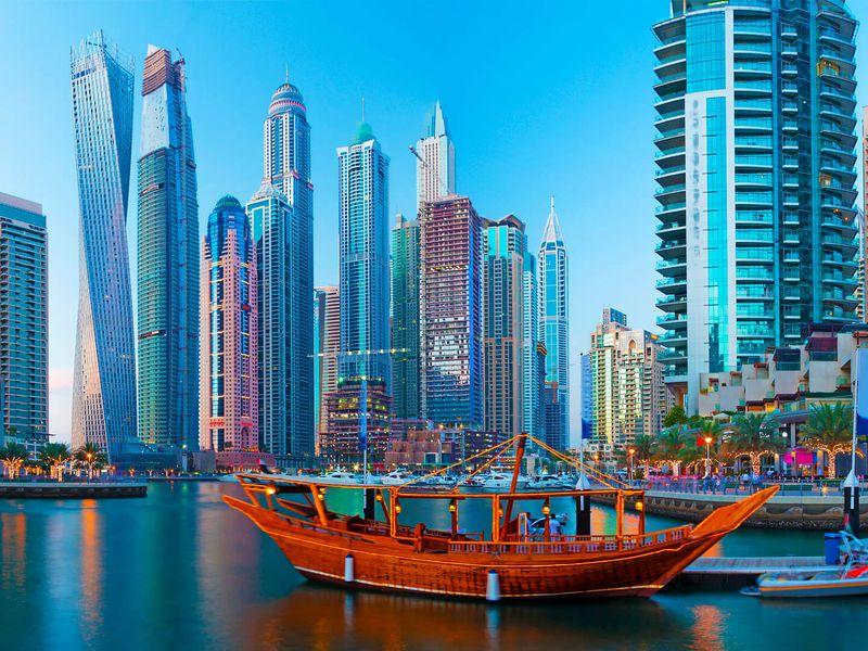 Экскурсия Дубай старинный и современный