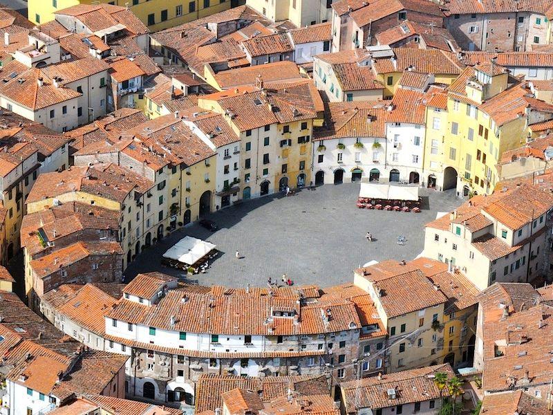 Лукка – город ста церквей