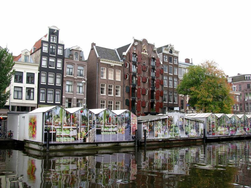 Рынки и магазины амстердама фото