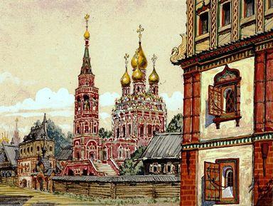 Старая Москва— послободам Заречья