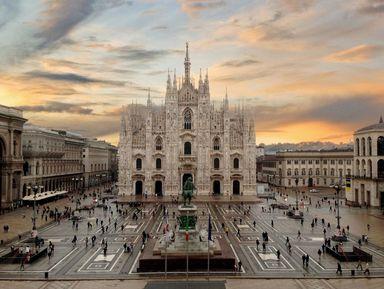 Первая прогулка по Милану