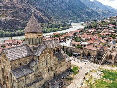 Мцхета и Уплисцихе — Грузия христианская и языческая