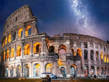 Бои гладиаторов на арене Колизея