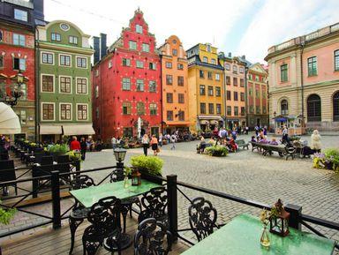 Стокгольм: знакомство с городом