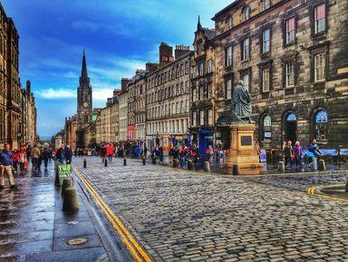 Экскурсия в Эдинбурге: Эдинбург. Путешествие сквозь века
