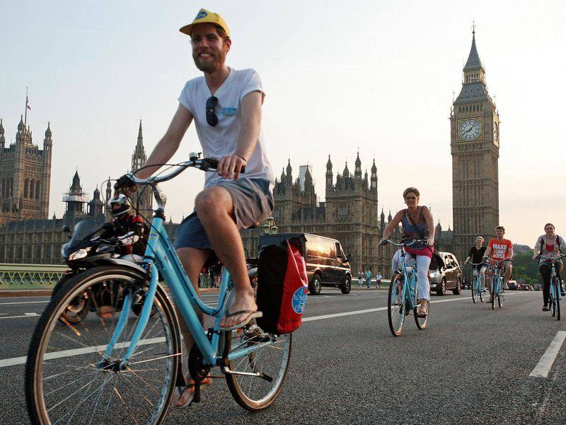 Экскурсия Велосипедный тур по Лондону