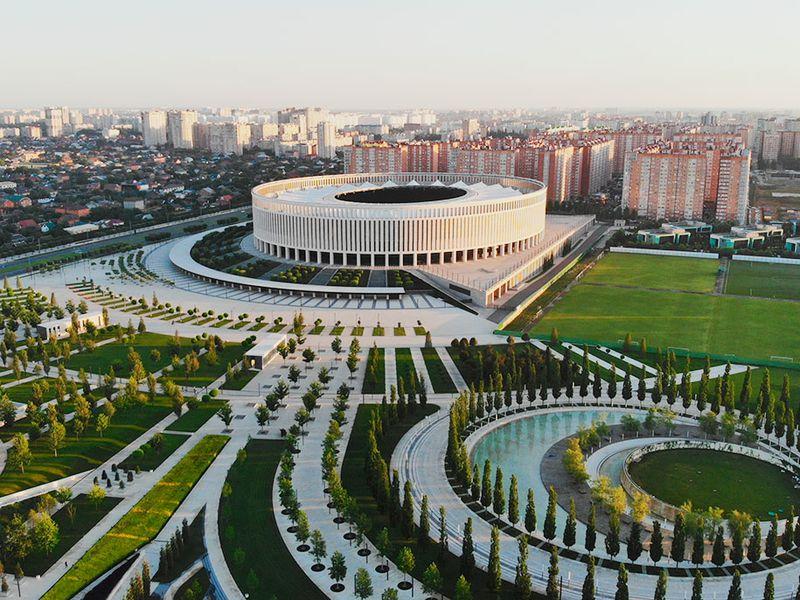 Добро пожаловать в Краснодар!
