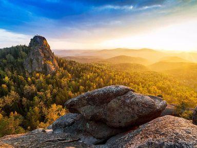 Центральные Столбы — путешествие в мир диковинных скал