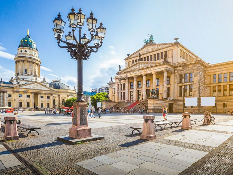 Первый день в Берлине
