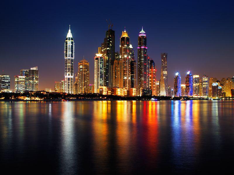 Экскурсия Ночной Дубай: обзорная экскурсия и прогулка на катере