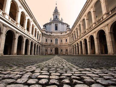 Прогулка по старейшей alma mater в Риме!