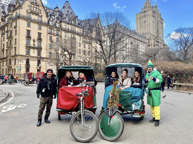 Экскурсия По Центральному парку на велорикше