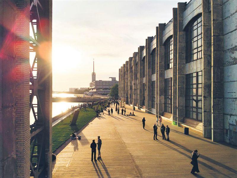 Экскурсия Креативные пространства Петербурга