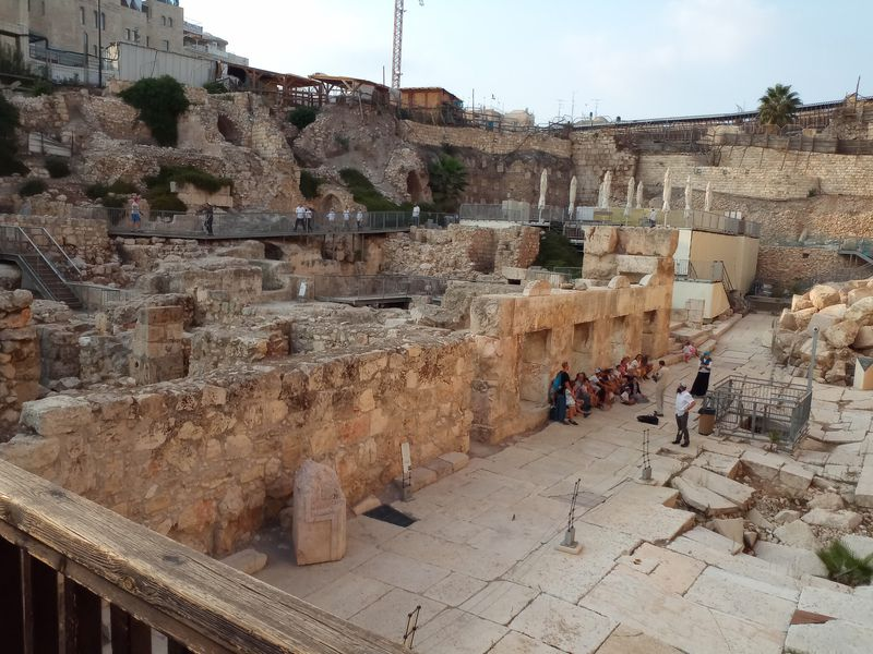 Экскурсия Подземный Иерусалим — город царя Давида