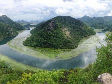 Скадарское озеро, Цетинье и Липская пещера