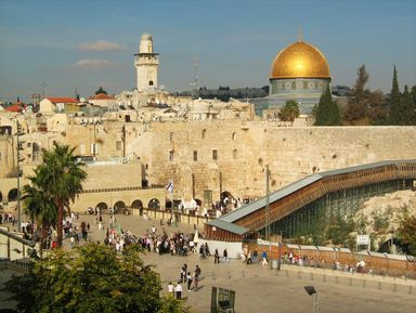 Иерусалим — город трех религий