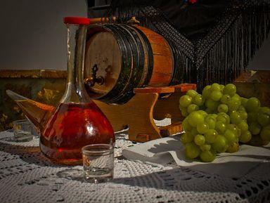 Дорогой вина и хамона