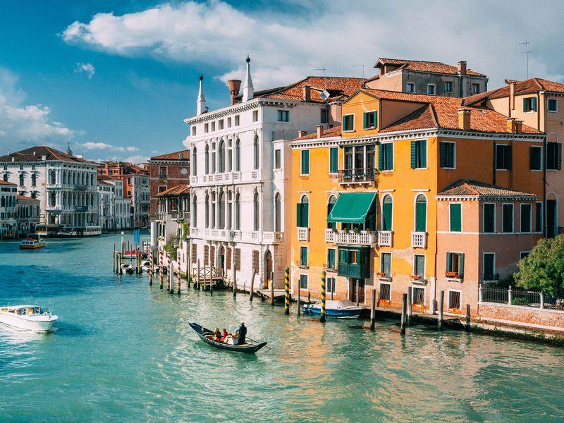 Первый день в Венеции