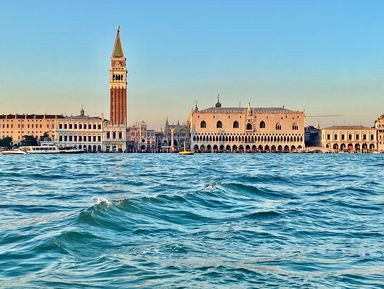 Первое знакомство с Венецией