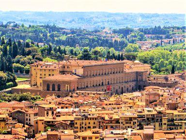 Палаццо Питти — резиденция великих герцогов