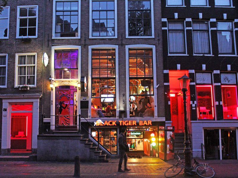 Экскурсия Красный, зеленый и северный Амстердам!