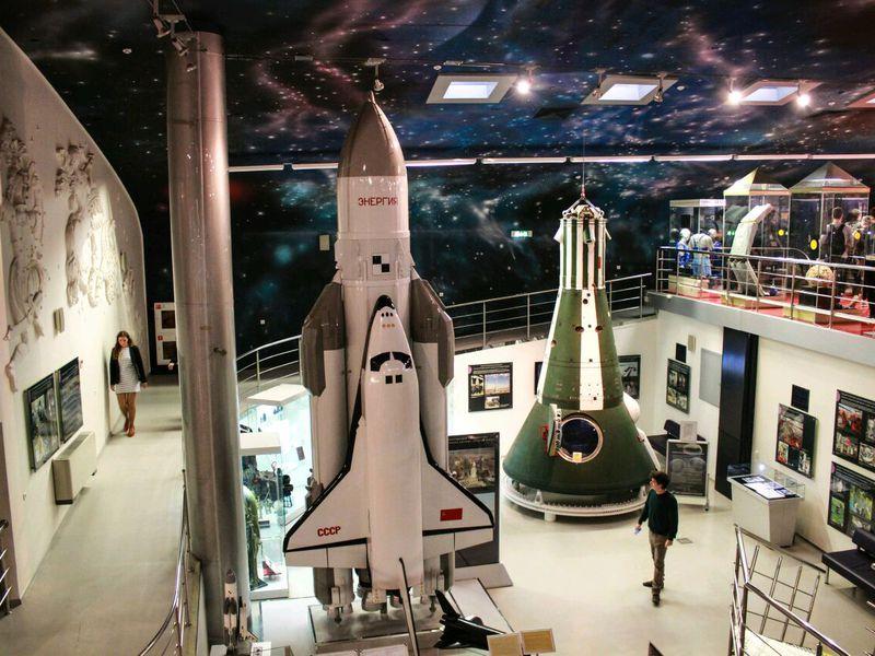 Экскурсия Космическое погружение в музее космонавтики!
