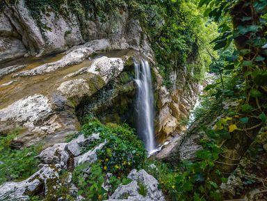 Два в одном: Агурское ущелье и Орлиные скалы