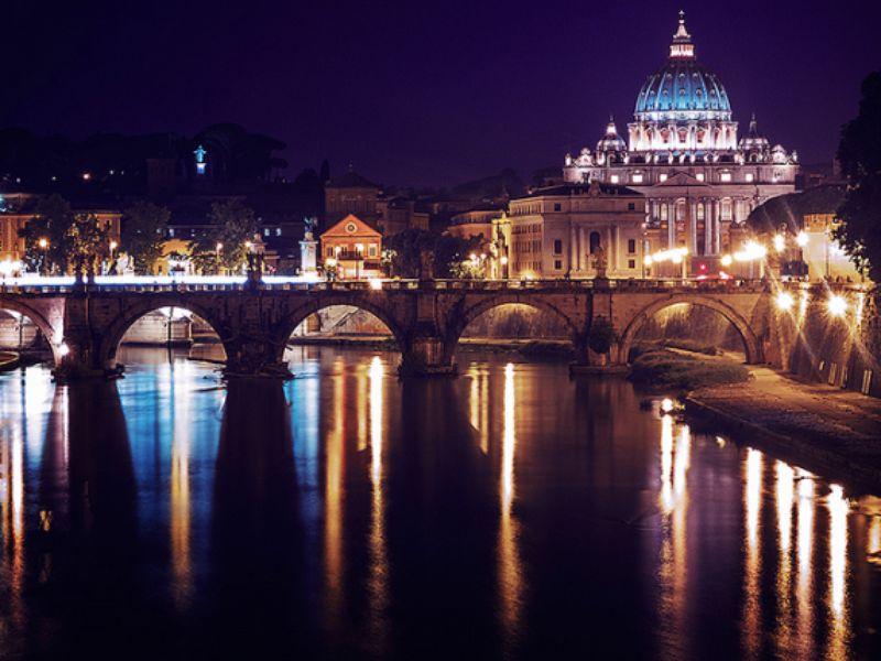 Экскурсия Вечерний Рим на машине