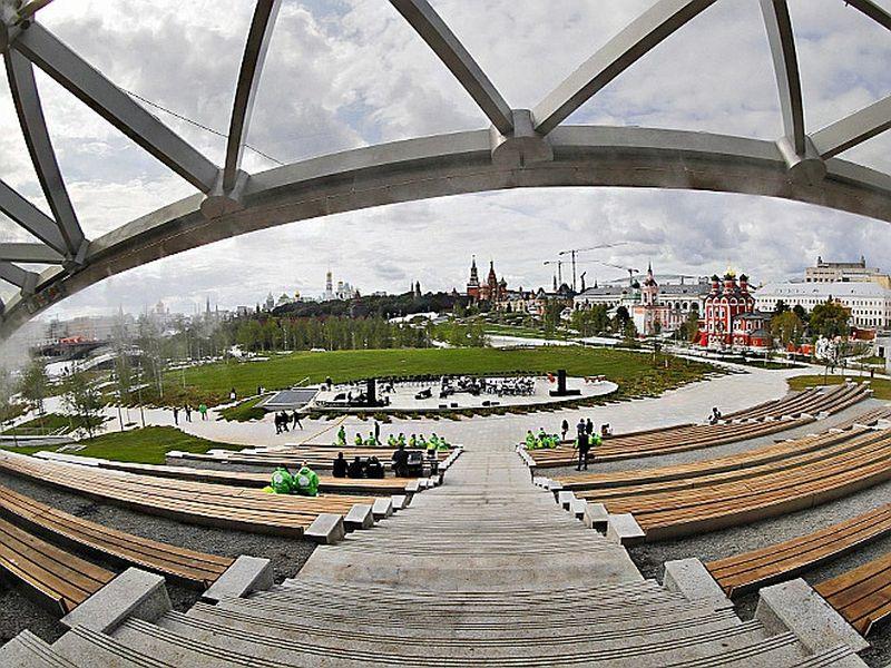 Экскурсия Варварка и Зарядье: роман старой улицы и нового парка