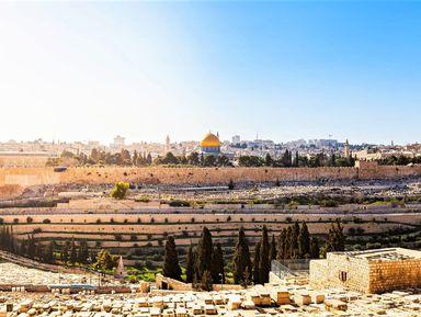 Онлайн-прогулка по Иерусалиму: Масличная гора
