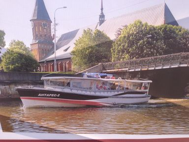 Вечерняя экскурсия по Калининграду с катанием на речном пароходике