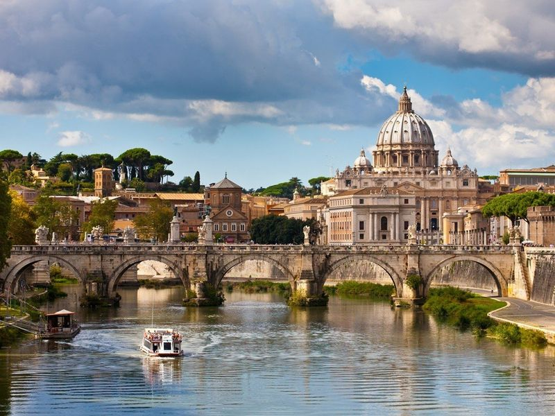 Экскурсия Утренний Рим с купола Собора Святого Петра
