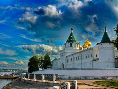 Из Ярославля в Кострому