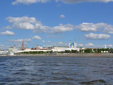 Речная экскурсия по Казани