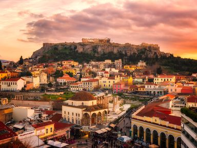 Прогулка по старым Афинам