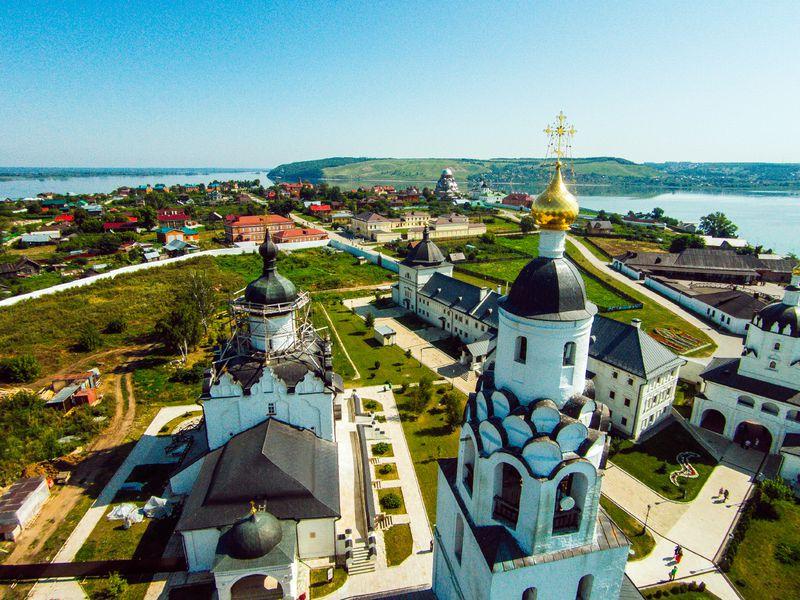 Заповедный Свияжск, Раифский монастырь ипрогулка натеплоходе