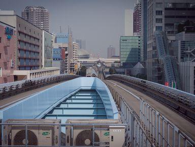 Токио и море