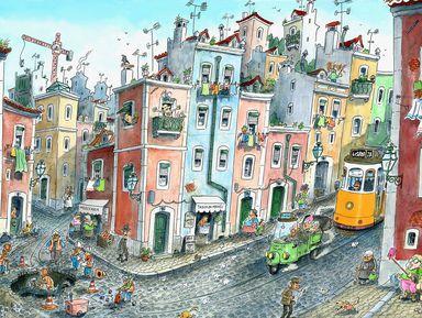 По Лиссабону с детьми: экскурсия-квест!