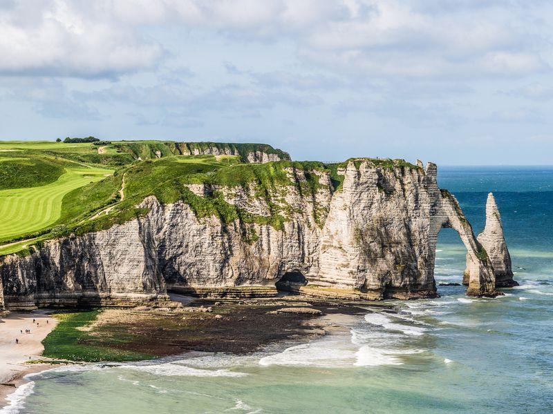 Живерни и Этрета — красавица Нормандия