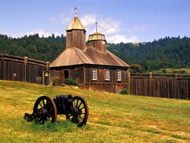 Поездкав Форт Росс — уголок Царской России в Калифорнии