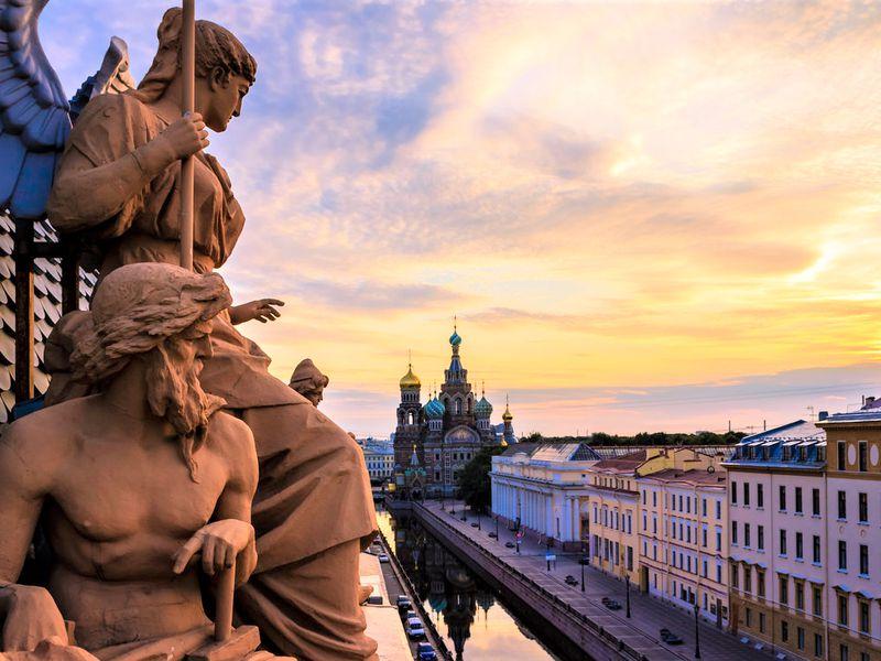 Экскурсия Петербург в лицах, характерах и судьбах