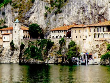 Монастырь Санта Катерина наозере Маджоре