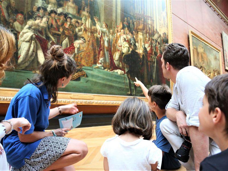 Экскурсия Сказочный Лувр для детей от 6 лет