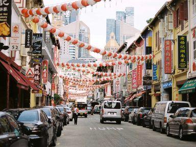 Современный Сингапур и China Town