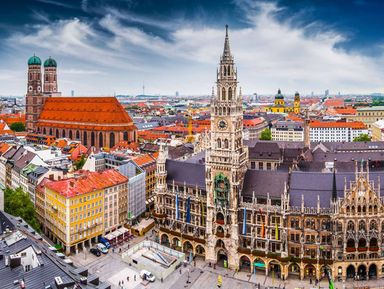 Ежедневная прогулка по Мюнхену