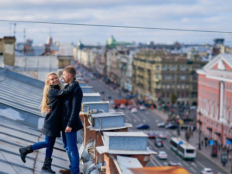 Петербург: вид сверху