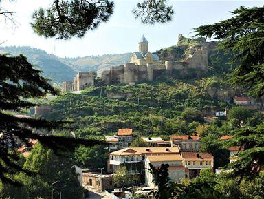 Лучшие панорамы Тбилиси