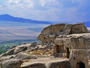 Древняя Мцхета и пещерный Уплисцихе